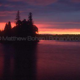 Copper Harbor Sunset, MI