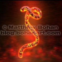 Ebola Virus (Lightwave 3d Image available for license)