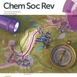 Chemical Society Reviews Cover 11/16 (Lightwave 3d and Photoshop)